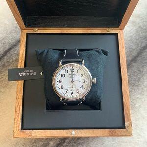 { Shinola } Runwell 47mm Watch Argonite 1069